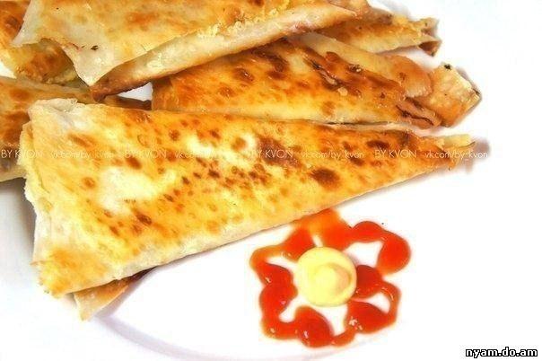 Горячие блюда из лаваша рецепты с фото